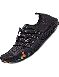 076ed656af06 Mens Womens Water Sport Shoes Barefoot Quick-Dry Aqua Socks for Beach Swim  Surf Yoga