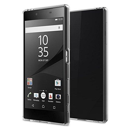 TPU Thin Case for Sony Xperia Z5 Premium (Clear) - 6
