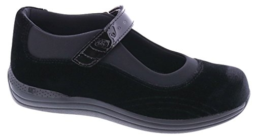 Drew Shoes Rose Women's Therapeutic Diabetic Extra Depth Shoe: Black/Velvet 11.0 X-Wide (2E) Velcro by Drew Shoe