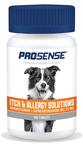 (Pro-Sense Itch & Allergy Solutions for Pets, 100-Count)
