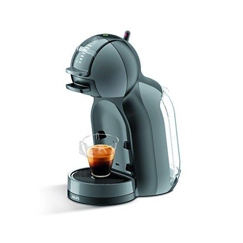 Krups Mini Me - Cafetera multibebida, color negro y gris