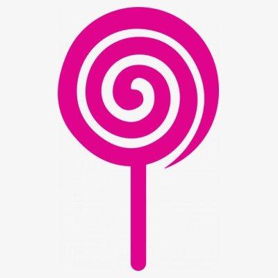 Sudadera con capucha de mujer Lollipop by Shirtcity Blanco