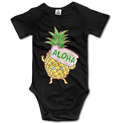 Price comparison product image Newborn Baby Pineapple Aloha Short Sleeve Romper Creeper 18 Months
