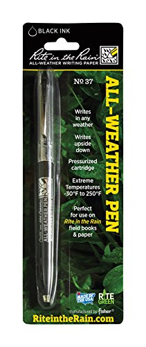 Rite in the Rain All Weather Pen no. 37 Black Ink - Pack of 2 by Rite In The Rain (Image #2)