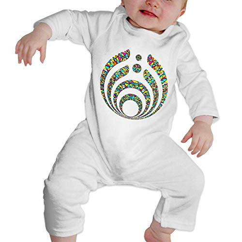 nongsha Unisex Baby Romper Cotton Jumpsuits, Bassnectar Warmth White2T]()