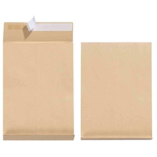 Lot de 100 enveloppes à soufflets Format B4 avec pli de 4 cm Mayer Kuvert