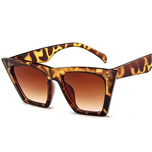 最大限有利過半数ファッション 女性 ビンテージ 正方形 サングラス レトロスタイル 太陽 眼鏡