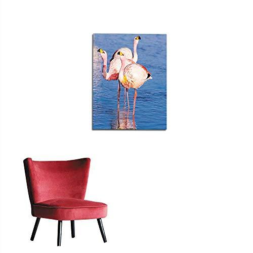 longbuyer Wall Sticker Decals James s Flamingo Phoenicoparrus jamesi Mural 32