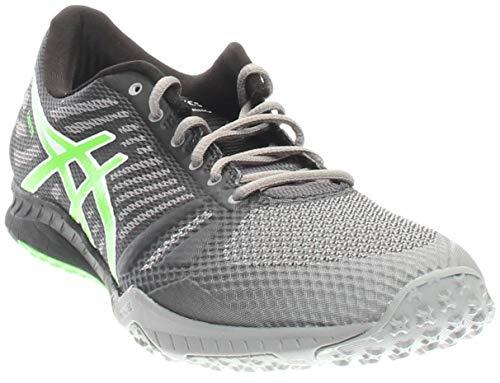 Cross-Trainer Shoe, Aluminum/Green Gecko/Black, 12 M US ()