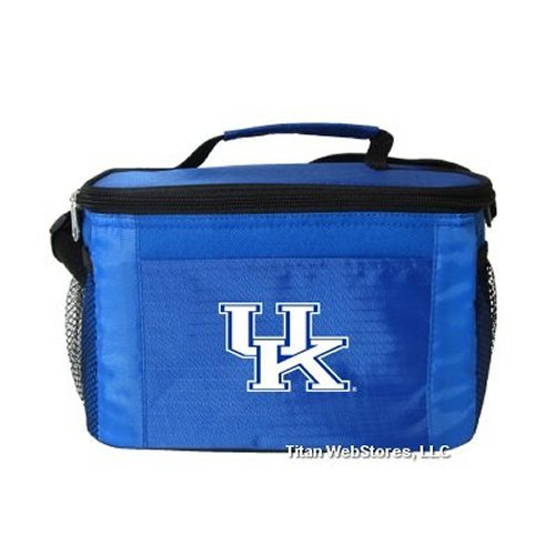 Wildcats Lunch Tote - NCAA Kentucky Wildcats Insulated Lunch Cooler Bag with Zipper Closure, Royal