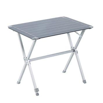 Trigano - Mesa de camping , aluminio, 80 cm: Amazon.es ...