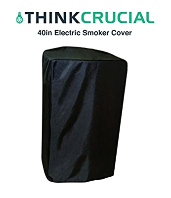 Durable 40in Universal Electric Smoker Cover including Masterbuilt, by Think Crucial by Think Crucial