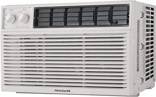 - FRIGIDAIRE 12,000 BTU 115V Window-Mounted Compact Air Conditioner with Mechanical Controls, White,