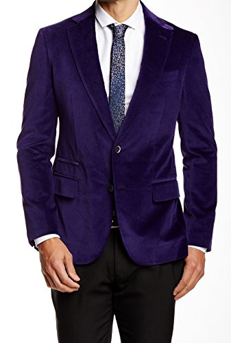 Robert Graham NEW Purple Mens Size 50 Two Button Notched ...