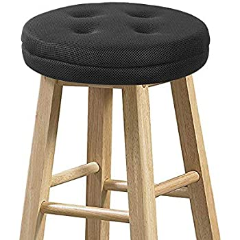 Amazon Com Augld Round Bar Stool Cover Watedrproof Faux