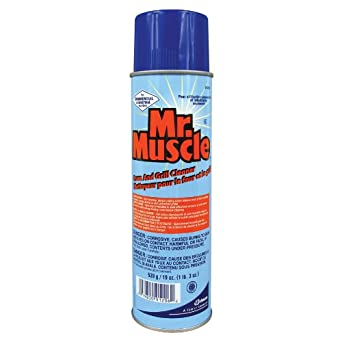 Amazon Com Scj Mr Muscle Oven And Grill Cleaner 19 Ounce