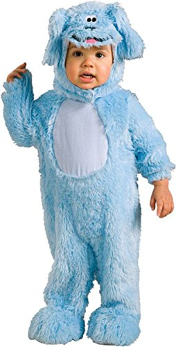 [Morris Costumes Unisex Baby Blues Clues Blue Romper Costume, 2-4] (Blues Clues Costumes Toddler)