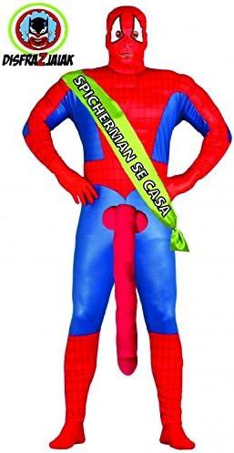 Disfraz Despedida de Soltero de Spicherman: Amazon.es: Juguetes y ...
