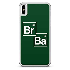 Apple iPhone X Transparent Edge Breaking Bad Br Ba - Multi Color
