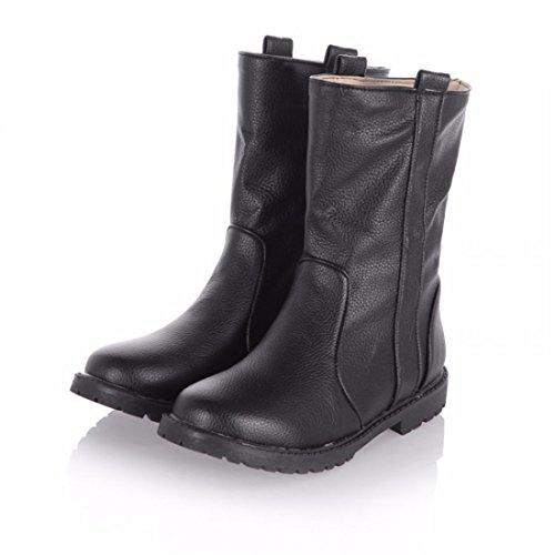 damas de with Moda Martin e botas casual invierno de Black botas NAP otoño zdAwU