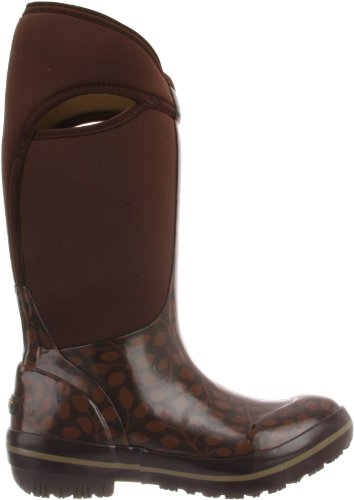 Winter Boot Leaf Rain Waterproof Plimsoll Women's amp; Waterproof Bogs Chocolate Tall nqzxwY7wU