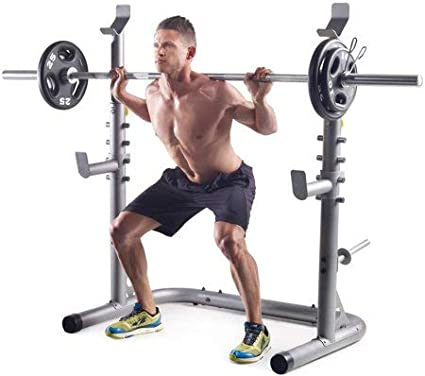 Workout Bench Weight Lifting Training Gym Station Gold/'s Gym XRS 20 Olympic NEW