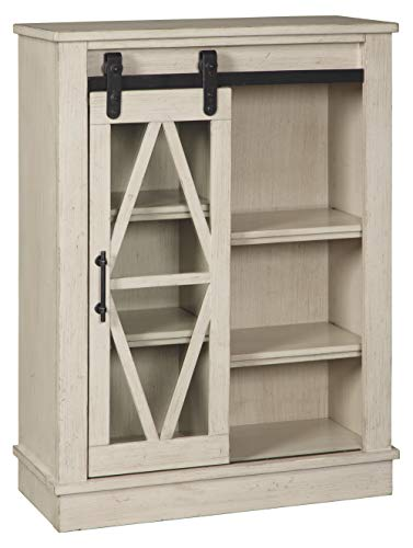 Signature Design by Ashley A4000133 Bronfield Accent Cabinet, White ()