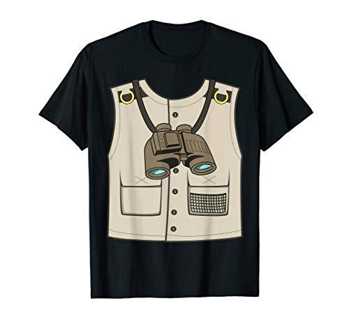Safari Zookeeper Vest Halloween Costume T-Shirt Gift ()