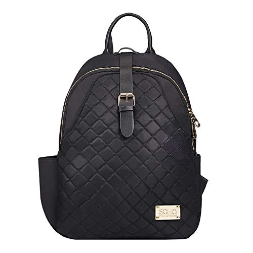 da4f4b0635139 SoHo Collections Helena Vegan Leather Baby Diaper Bag Backpack with Changing  pad Stroller Straps and Insulated