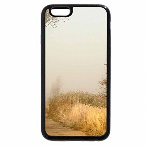 iPhone 6S Case, iPhone 6 Case (Black & White) - wonderful autumn mist