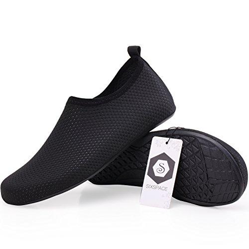 Water 04 Yoga Shoes Barefoot Surf Black Beach Shoes Pool for Unisex Swim Aqua Socks Sixspace 6xHn7wTq5p