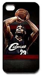 THYde icasepersonalized Personalized Protective Case for iPhone 5c - Lebron James, NBA Cleveland Cavaliers #ending