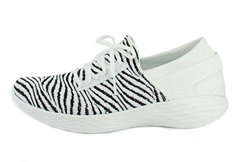 Sneaker Womens by White Black Skechers Unity You wqxp0C1