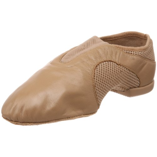 Bloch Womens Flow Slip On Jazz ShoeTan10 M US