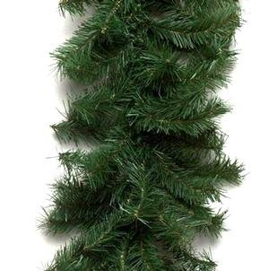 Vickerman A802714 Artificial Christmas Garlands, 50' x 10'', Green by Vickerman