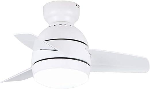 Macaron luz del Ventilador del Techo pequeño Ventilador Ligero ...