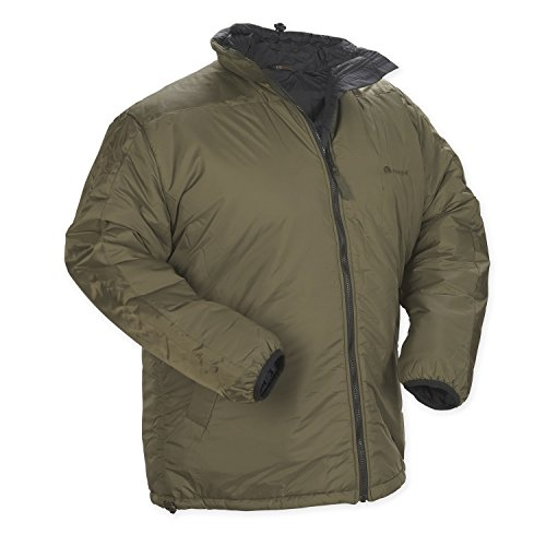 Snugpak Men's Sleeka Elite Reversible Jacket, Olive/Black, X-Large by SnugPak