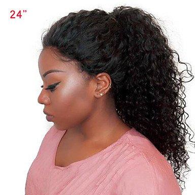 Las mujeres encaje pelo humano peluca cabello humano de Malasia encaje frontal 250% densidad con