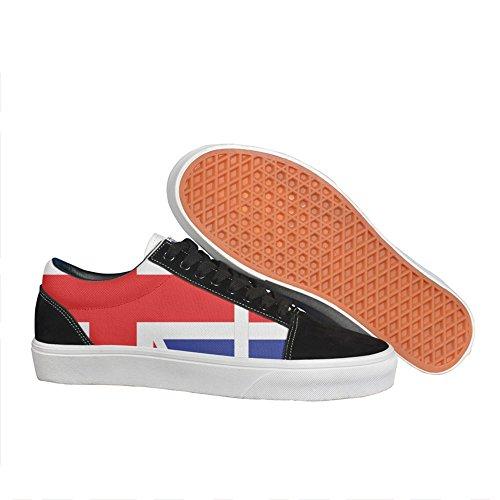 british flag corn hole Women's Sneaker Lightweight Go Easy Walking Casual Comfort Shoes ()