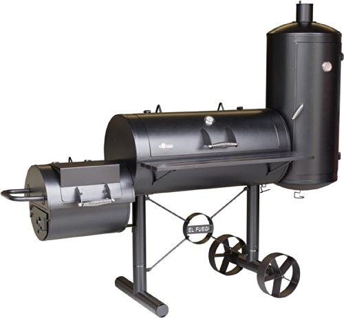 El Fuego® Holzkohlegrill/Smoker