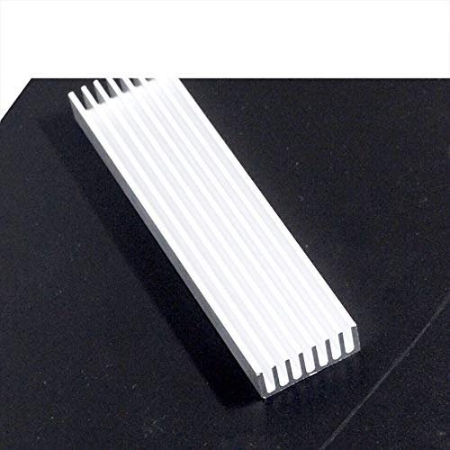 1pcs 1003510mm Heatsink Cooler Cooling Fin Aluminum Radiator Heat Sink for LED Power IC Transistor Module PBC 100x35x10mm