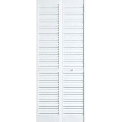 Louver Closet Doors (Classic Louver/Louver Bifold, Primed, 32