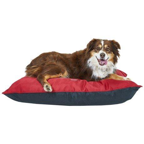Coleman Indoor/Outdoor Red Pet Pillow Bed by Coleman (Image #5)