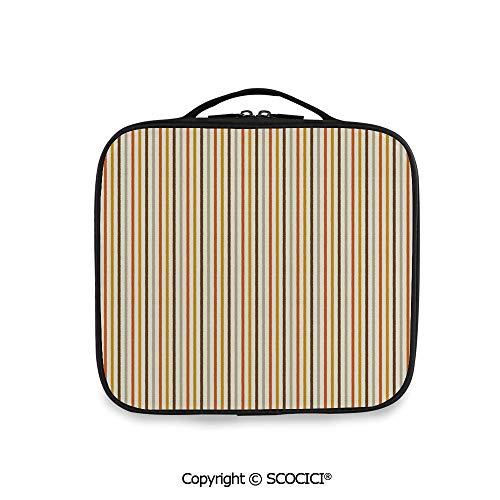 SCOCICI Large Capacity Travel Handle Wash Bag Retro Nostalgic 60s 70s Fashion -