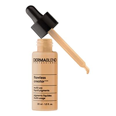 Dermablend Flawless Creator Liquid Foundation Makeup Drops, Oil-Free, Water-Free, 1 Fl. Oz.
