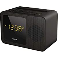 AJT5300 Philips Bluetooth Clock Radio Black Uni Charging Dock Bluetooth Enabled Bluetooth Enabled, USB Port to Charge…