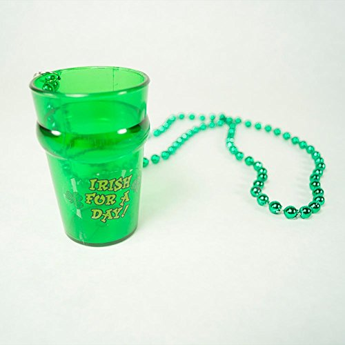 Beistle 30593 Beads with St. Pat's Glass, 33-Inch/2-1/2 Ounce ()