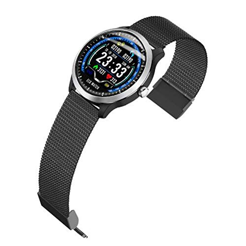 N58 Fitness Tracker Wristband,ECG+PPG,HRV Analysis Report,Heart Rate/Blood Pressure Monitoring,Color Display 3D Dynamic UI Interface/IP67 Waterproof Smart Watch