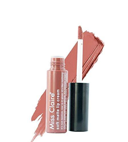 MISS CLAIRE Miss claire Soft Matte Lipcream Shade No.58 + FREE Miss Claire Glimmerstick Lip pencil Rust L-08