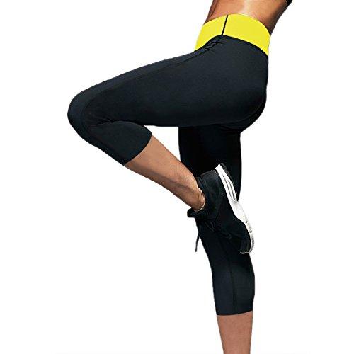 Womens SlimCapris Neoprene Shapers Leggings product image